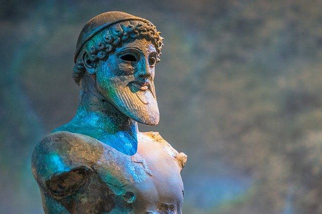 古代ギリシャ像の画像