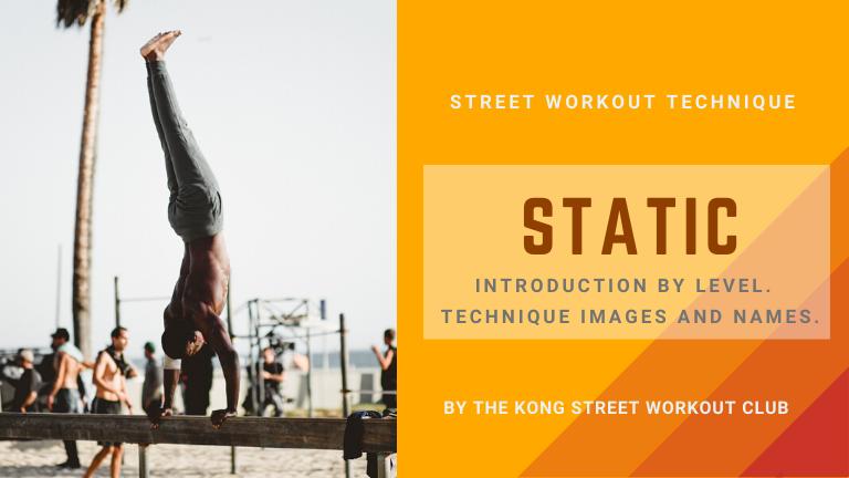 ストリートワークアウトの技『スタティック』